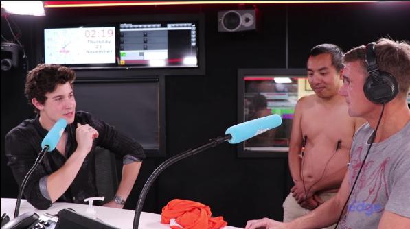 """Shawn Mendes habla sobre su """"primera vez"""" en una entrevista"""