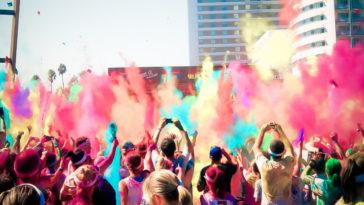 Color Run, el festival más colorido llega a Cartagena