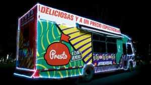 PRESTO sale a las calles para llevar alegría a los colombianos con hamburguesas GRATIS