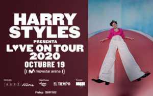Se suspende el concierto de Harry Styles en Colombia