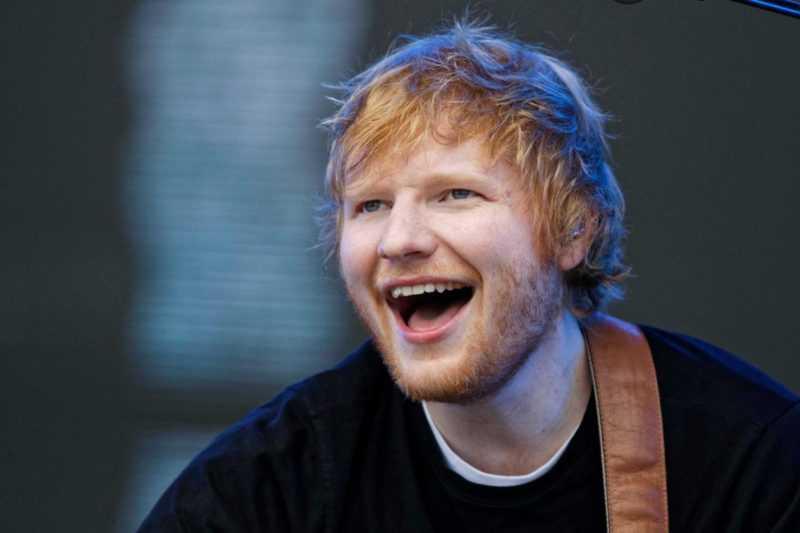 Ed Sheeran, el artista más reproducido en Reino Unido