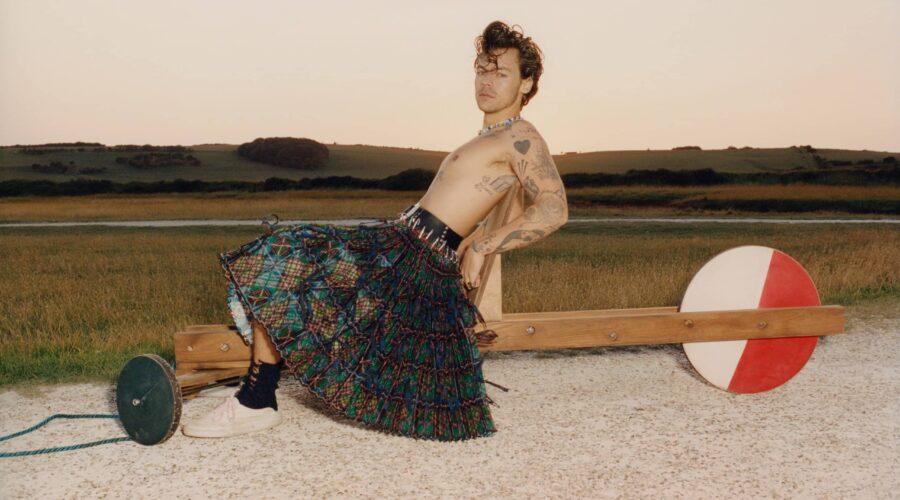Harry Styles es la nueva portada de Vogue