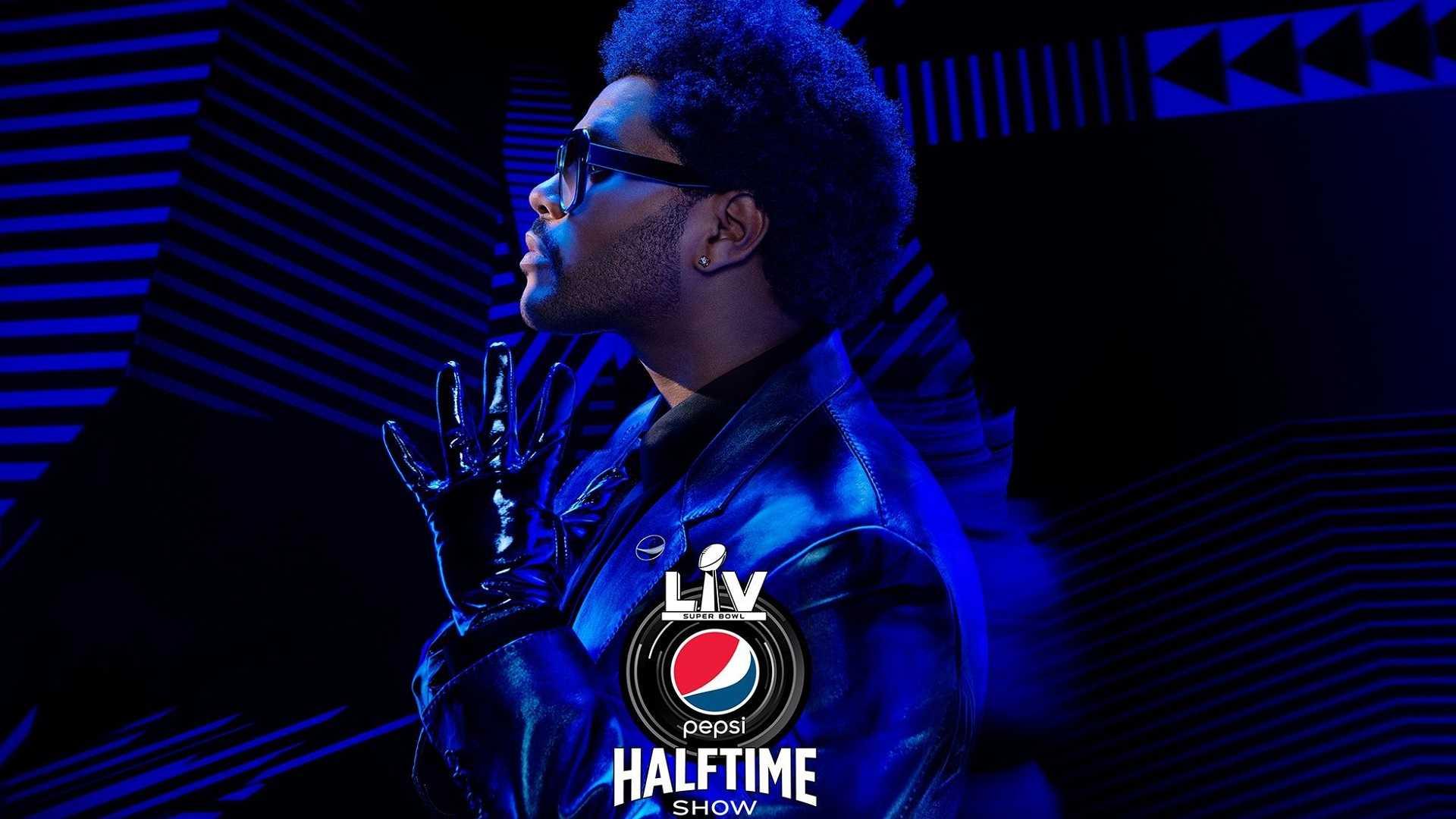 The Weeknd será el encargado del medio tiempo del Super Bowl 2021