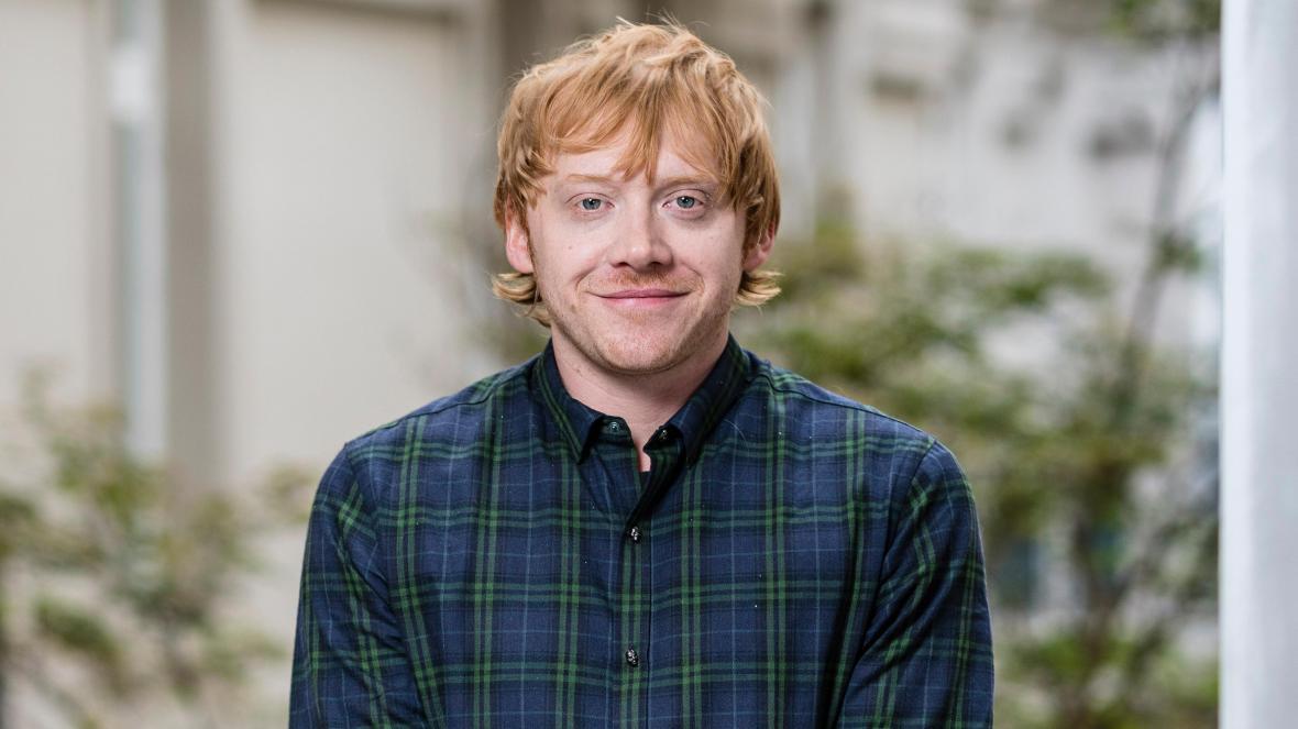 Rupert Grint (Ron Weasley) solo ha visto las tres primeras películas de Harry Potter